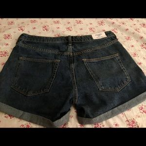 Regular Waist Jean Shorts (New)
